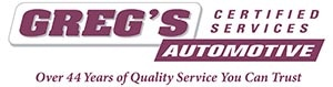 Greg's Automotive Certified Services